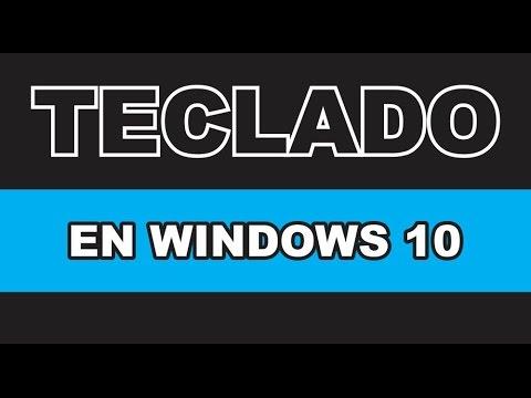 Como poner bien tu teclado en Windows 10 | Se te perdió la arroba @ | SOLUCIONADO 2017