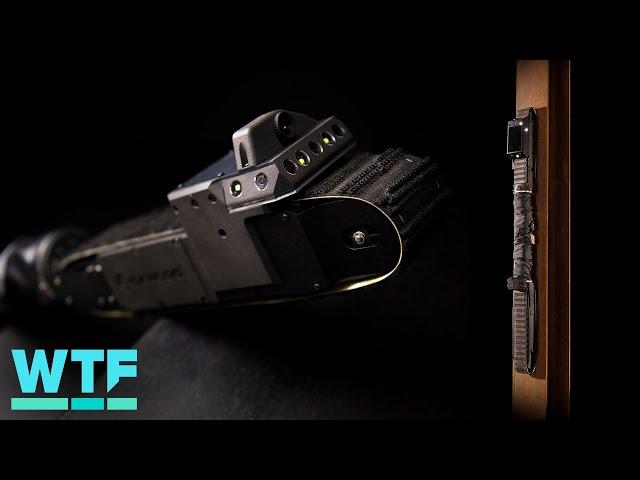 Watch this robot crawl up walls