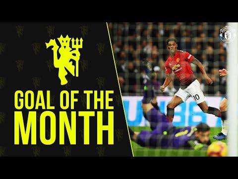 Man Utd Goal of the Month | Jan 2019 | Rashford, Lukaku, Alexis | Download the MU App to vote now!