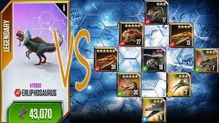 One VS Nine - Dino Stampede - Jurassic World The Game