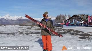 2019 / 2020 | Armada ARV 86 Skis | Video Review