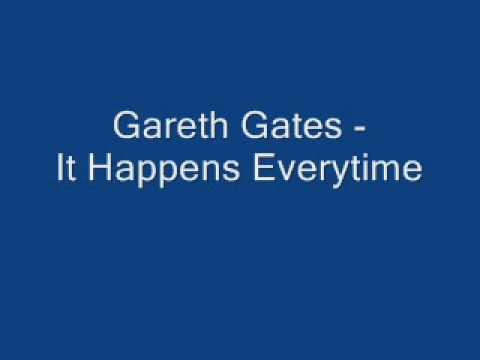 Клип Gareth Gates - It Happens Every Time