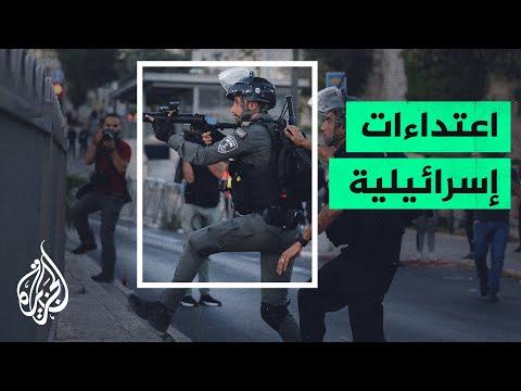 مستوطنون إسرائيليون يعتدون على فلسطينيين من سكان حي الشيخ جراح