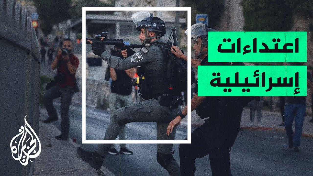 مستوطنون إسرائيليون يعتدون على فلسطينيين من سكان حي الشيخ جراح  - نشر قبل 3 ساعة