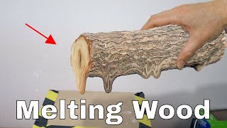 Is It Possible to Melt Wood in a Vacuum Chamber? The Wood Distillation Experiment
