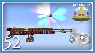 FTB Sky Factory 3 | Extra Utilities Rainbow Generator! | E52 (Modded Skyblock Minecraft 1.10.2)