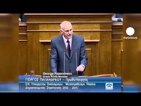 Greek parliament passes austerity bill
