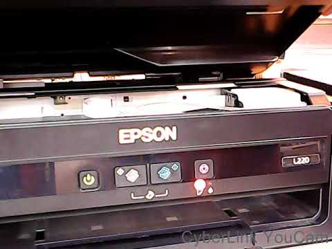 How To Reset Epson L220 Service Required Part1 Youtube