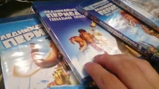 Розпакування BD дисків яких я купив