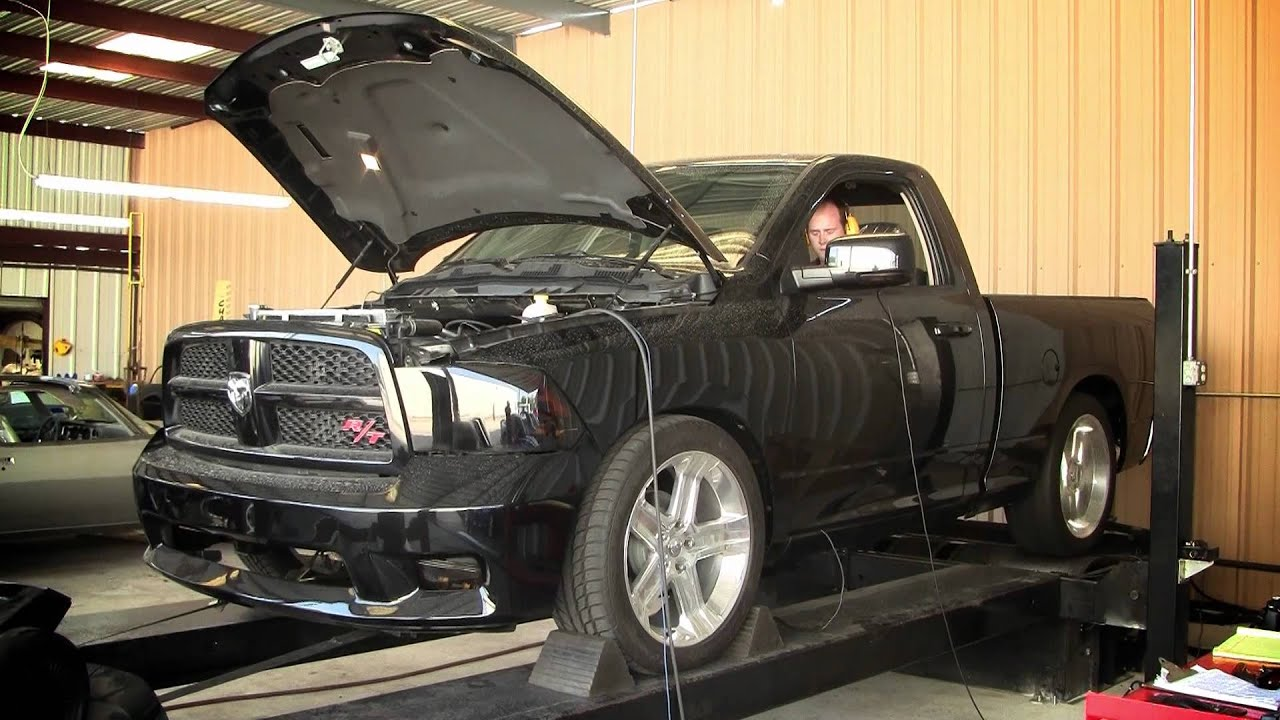 2011 Supercharged Dodge Ram R T Youtube