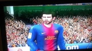 Fifa 13 Nintendo wii gameplay
