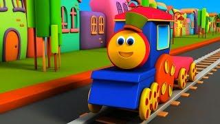 بوب ، القطار - الأبجدية مغامرة | Bob, The Train - Alphabet Adventure | ABC Song