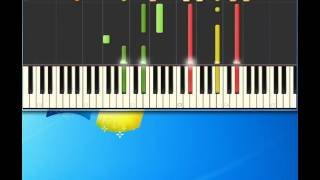 Brenda Russell   Get Here [Piano tutorial by Synthesia]