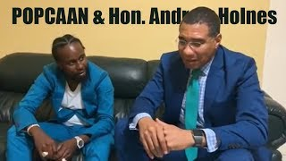 WHAT Popcaan & The Prime Minister SPOKE About | Ginjah Says