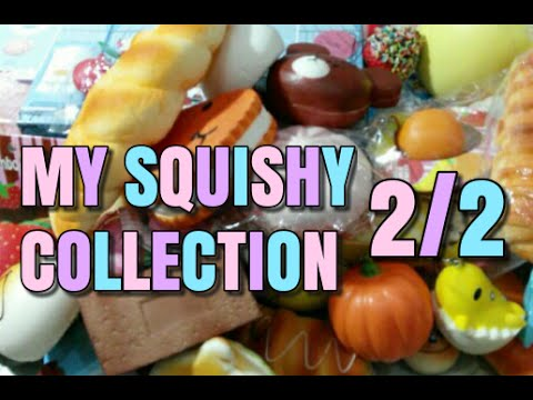 My Squishy Bun Collection : MY SQUISHY COLLECTION PART 2/2! - YouTube