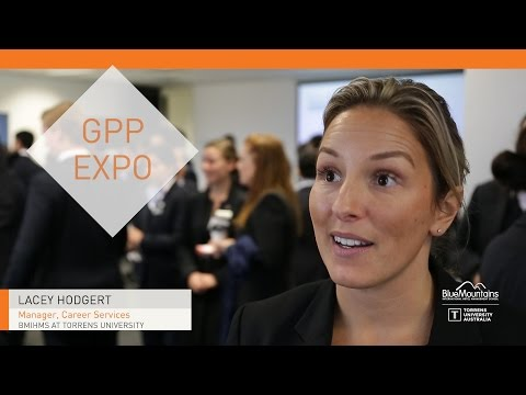 Lacey Hodgert, Manager Career Services, GPP Expo