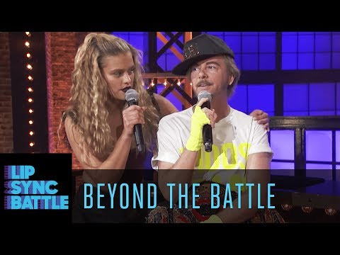 Thumbnail: David Spade vs. Nina Agdal Go Beyond the Battle | Lip Sync Battle