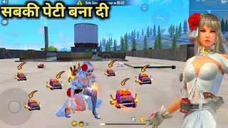 """🔥New female DIAMOND ROYAL BUNDLE Factory Roof Tabahi Gameplay""""Must Watch"""" - Garena free fire"""