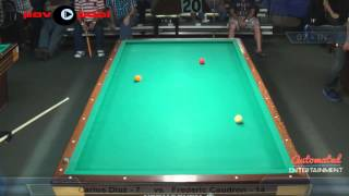 3 Cushion @ The Eight Ball - Frederic Caudron vs Carlos Diaz
