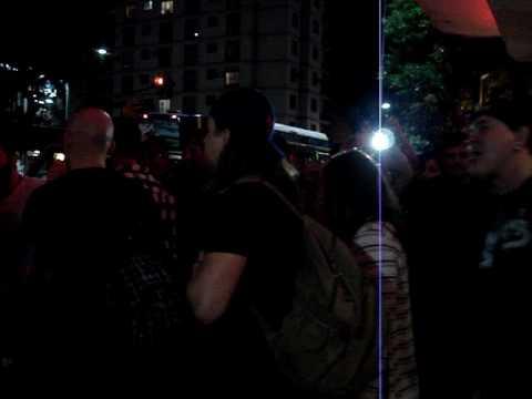 Scott Stapp  In Argentina leaving teatro vorterix Mp3