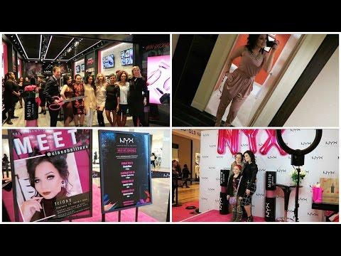 NYX Store Opening & MY MEETUP!!
