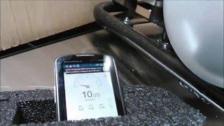 husky 4 6 gal silent flow compressor sound test
