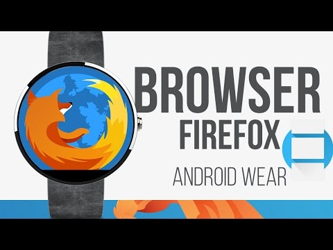 Browser Firefox On Android Wear Moto 360