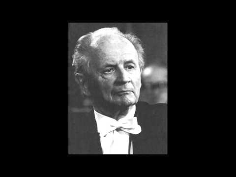 Kempff plays Schubert Piano Sonata in A Major D664
