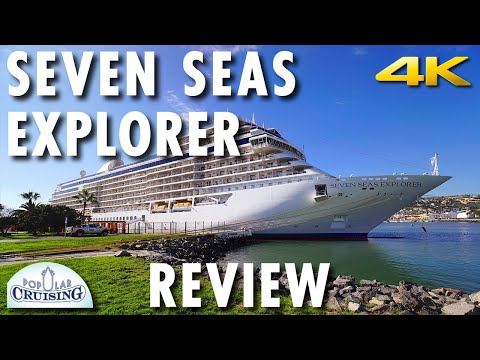 Seven Seas Explorer Tour & Review ~ Regent Seven Seas Cruises ~ Cruise Ship Review [4K Ultra HD]