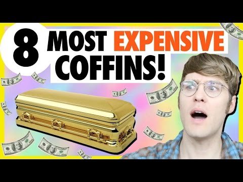 8 MOST EXPENSIVE COFFINS EVER MADE!