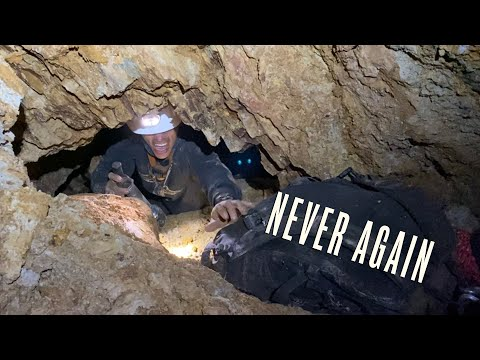 Exploring The Most Dangerous Mine At Cerro Gordo (For The Last Time)