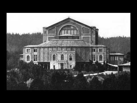 1927. Parsifal: Act III, Prelude (Siegfried Wagner, Bayreuth)
