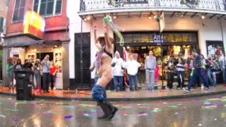 Mardi Gras in New Orleans 2012