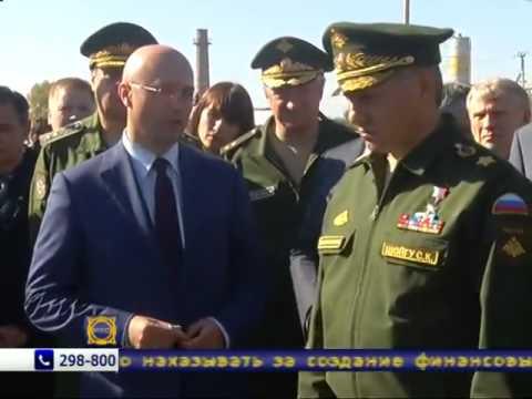 В Хакасию прибыл министр обороны России Сергей Шойгу