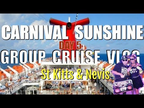 Group Cruise Carnival Sunshine | Day 5 VLOG in 4K