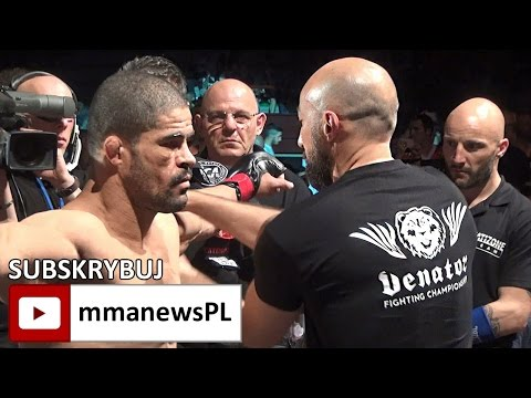 Rousimar Palhares after shocking 45 seconds KO loss in Italy