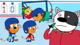 Три Кота | Увлекательное хобби сборник серий | Мультфильмы для детей 🎮🎿🎲