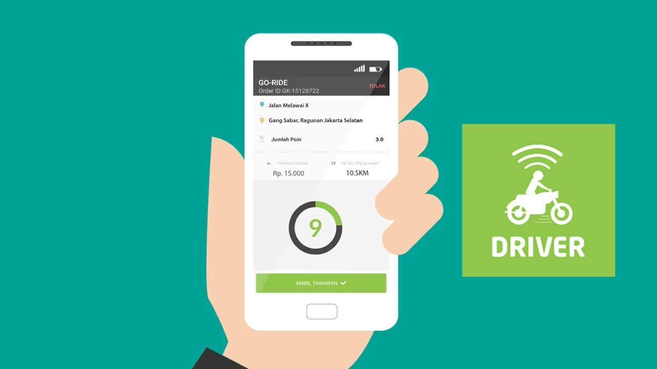 Cara Menggunakan Aplikasi GOJEK DRIVER Untuk Para Driver ...