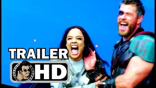 THOR: RAGNAROK Bloopers Gag Reel Outtakes Trailer (2017) Chris Hemsworth Marvel Superhero Movie HD