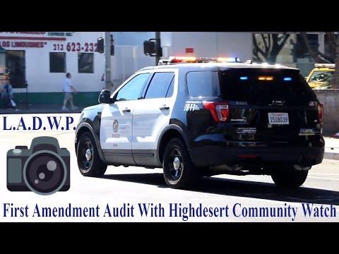 L.A.D.W.P. - Skid Row - First Amendment Audit