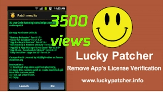 Lucky Patcher on Substratum theme crack ( paid to convert free )patch file apk latest android mobile