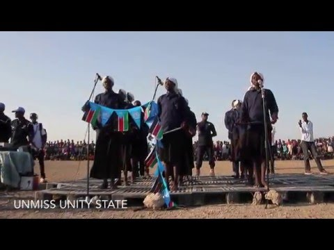 Christmas Choirs from Bentiu's Unity State sing 'Joy to the World'