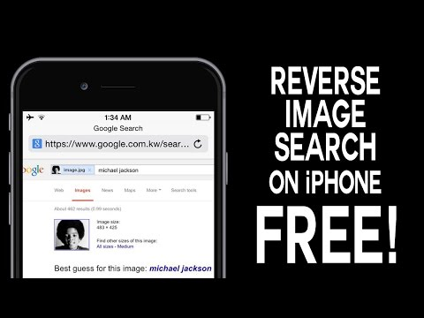 Reverse Image Search on iPhone (FREE !)