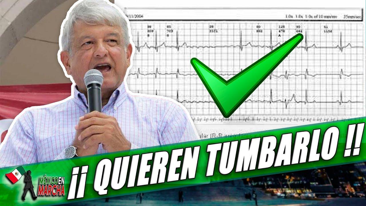 Urgente!! Liberan Pruebas Cardíacas De AMLO ! Se Cae El Montaje A La Oposición: Dr. Se movió Raído!