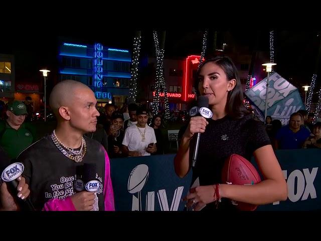 TAINY - Fox Sports Deportes Super Bowl LIV Interview