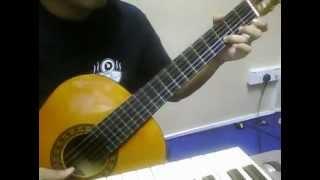 Cover images suara takbir - p.ramlee (classical guitar cover)
