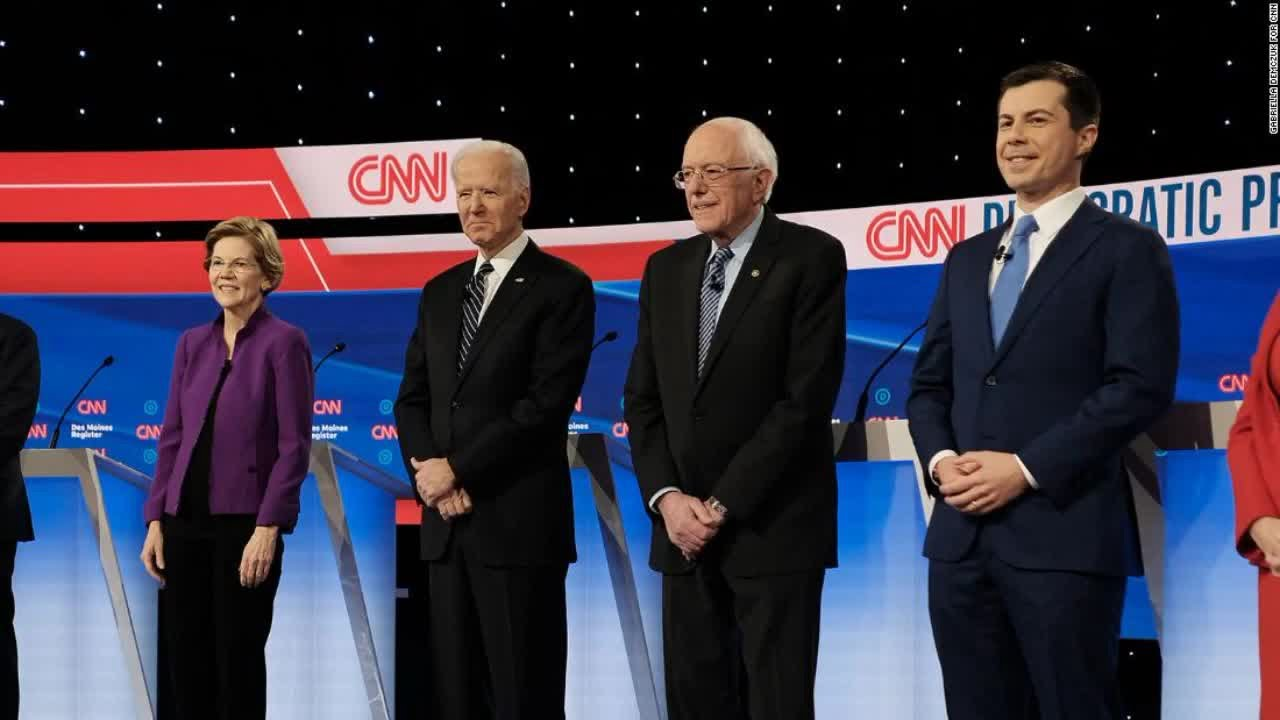 Joe Biden adopts signature tactics from former primary rivals as he ...