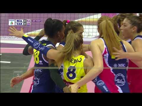 Pallavolo A1 femminile - Scandicci-Casalmaggiore 3-0: highlights