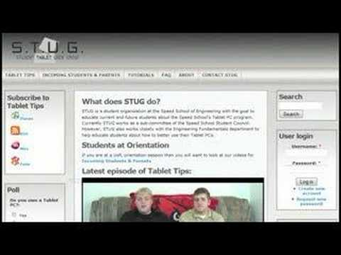 Tablet Tips - Internet Applications for College Students thumbnail