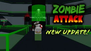 Roblox- [UPDATE! Zombie Attack] (Gameplay) #2